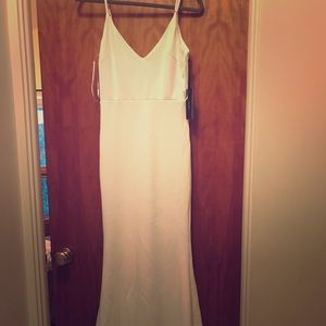 Infinite Glory White Maxi Dress